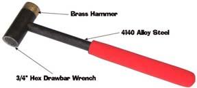 "Step-Saver Hex Drawbar Wrench 3/4"""