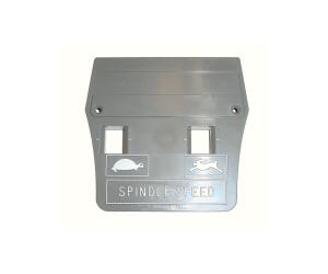 Plastic Face Plate w/o Bridgeport logo
